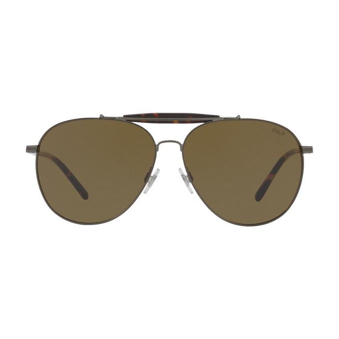 52a224829 رالف لورين نظارات شمسية أفياتور للرجال، عدسة لون أخضر زيتي، PH3106  9327/73-60 mm - UPC: 8053672719796 | أسواق.كوم