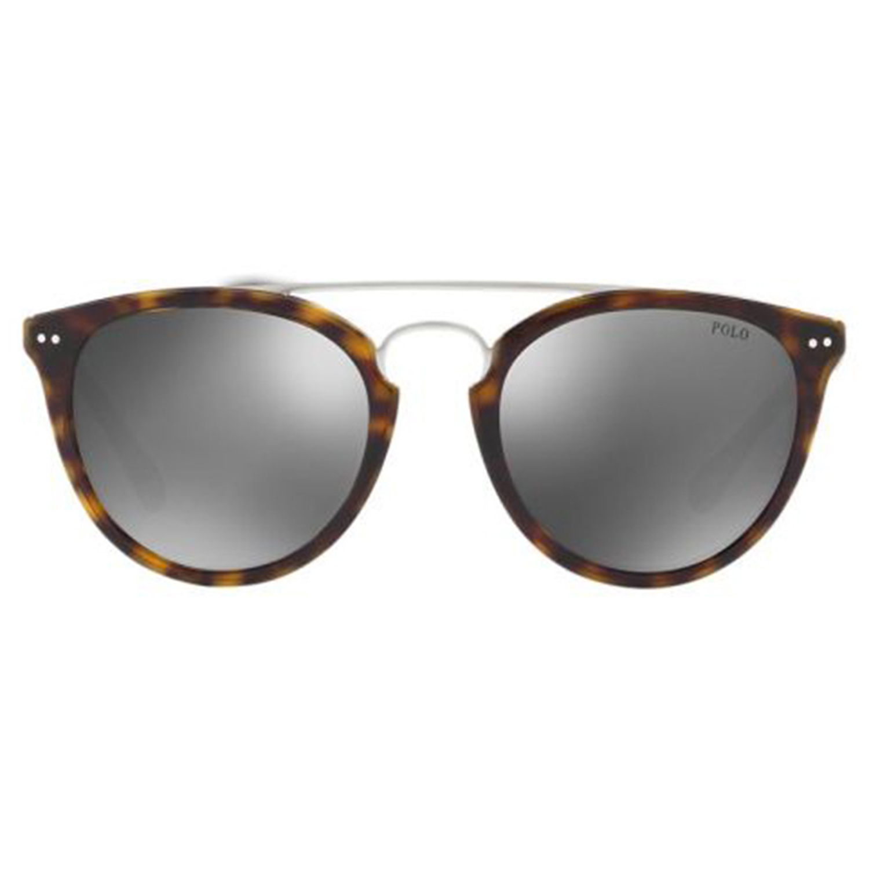 1feb2444d رالف لورين نظارات شمسية دائرية للجنسين، عدسة فضية مرآة، PH4121 5003/6G-51  mm - UPC: 8053672716092 | أسواق.كوم