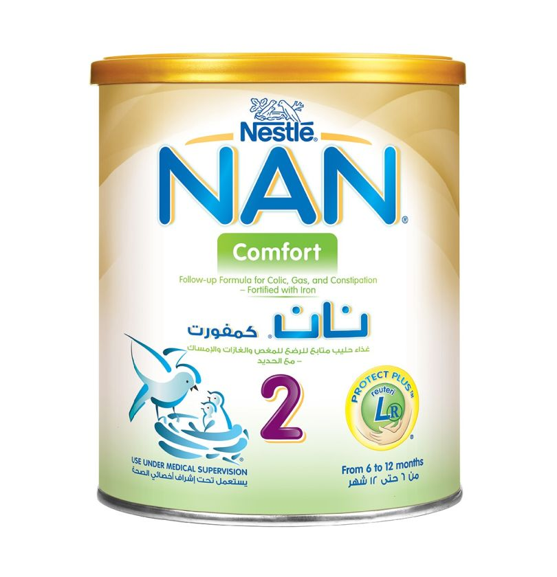 Nestle Nan Comfort 2 Infant Formula For Colic Gas And