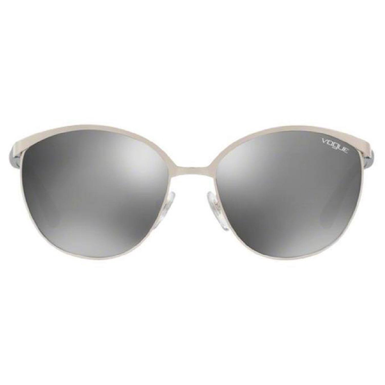 71ad7f3b3 فوج نظارات شمسية دائرية للنساء، عدسة لون فضي، VO4010S 50056G-57 - UPC:  8053672600520   أسواق.كوم