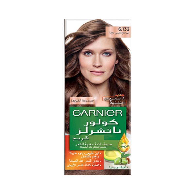 Buy Garnier Color Natural Nudes Kit 6.132 Nude Light Brown