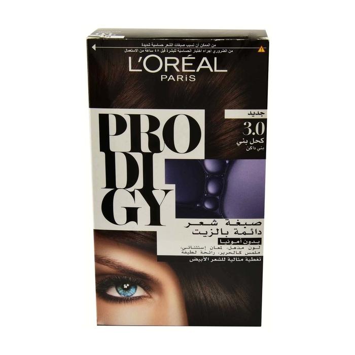Loreal Paris Permanent Hair Oil Color No Ammonia 30 Dark