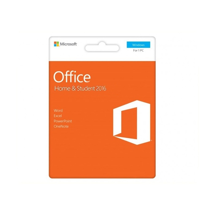 Microsoft Office Home and Student 2016 for Windows, English