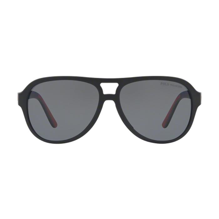 d4957162c رالف لورين نظارات شمسية أفياتور للرجال، عدسة لون رمادي، PH4123 5001/81-58  mm - UPC: 8053672749540 | أسواق.كوم