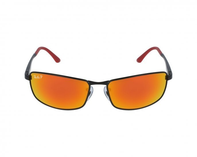 51645eb6c8 Ray-Ban RB3498 Rectangle Sunglasses for Men