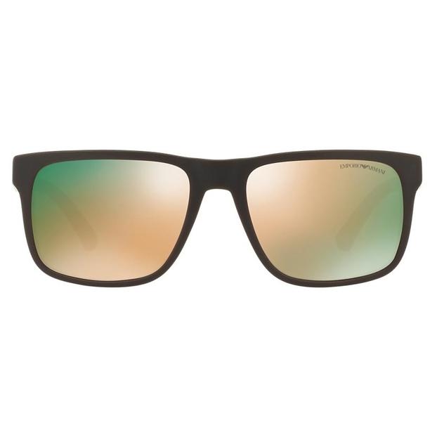 ed7533e47034 Emporio Armani EA4071 Square Sunglasses For Men